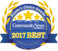 Community News 2017 Readers Choice Best Award